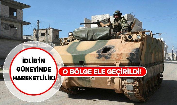 İDLİB'İN GÜNEYİNDE İLERLEME SÜRÜYOR!