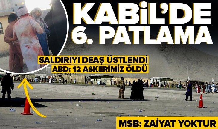 Son dakika: Kabil Havalimanı'nda üst üste patlamalar | Saldırıyı DEAŞ üstlendi