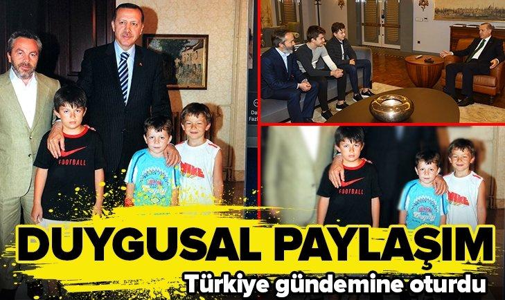 EROL OLÇOK'UN OĞLUNDAN DUYGUSAL PAYLAŞIM!