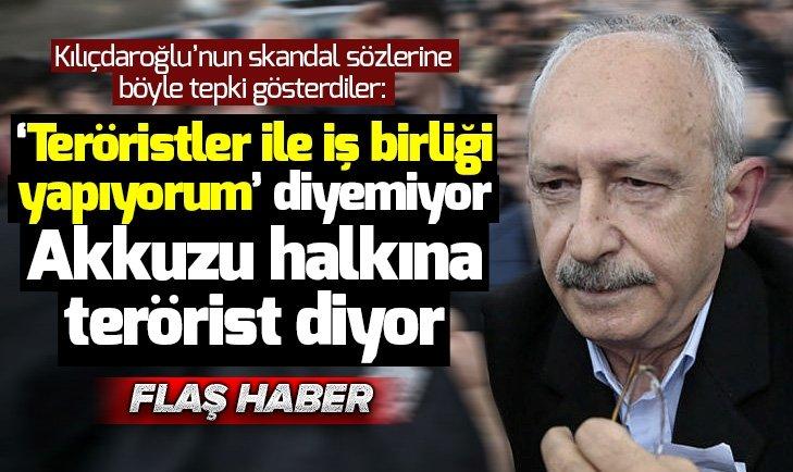 Şehit yakınlarına PKK'lı diyen Kemal Kılıçdaroğlu'na tepki büyük