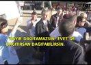 POLİS DEĞİL, EYLEMCİ ÇIKTI