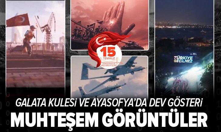 İstanbul'da 15 Temmuz'a özel gösteri