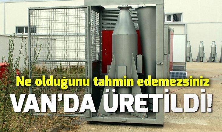 VAN'DA ÜRETİLDİ! TÜRKİYE'DE İLK