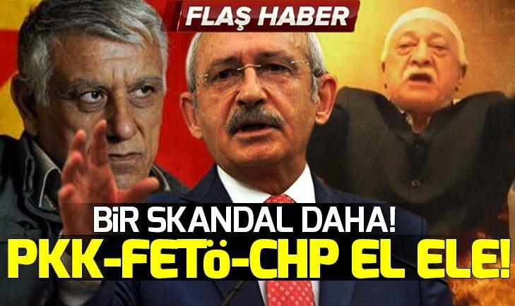PKK-FETÖ-CHP EL ELE!