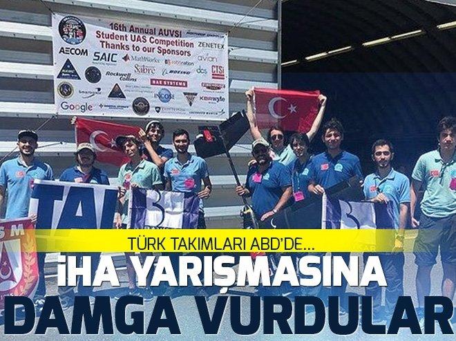 İHA yarışmasına Türk takımlarının damgası