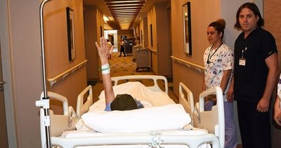 Asitli saldırıda yüzü yanan Berfin, 12 saat süren zorlu ameliyattan çıktı