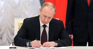 Putin imzaladı! Yaptırım geliyor...