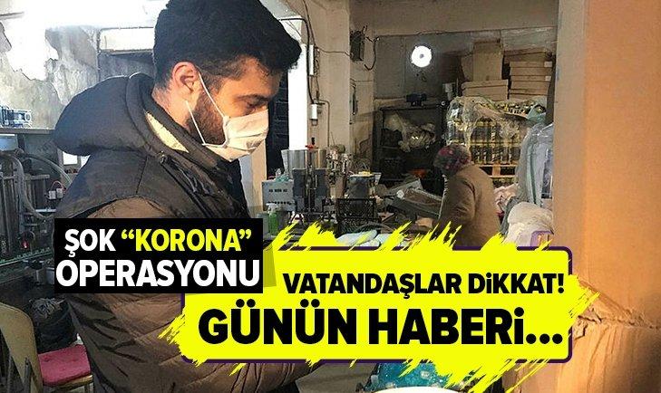 Son dakika: İstanbulda Gaziosmanpaşada sahte dezenfektan operasyonu! Koronavirüs fırsatçılarına geçit verilmedi   Video