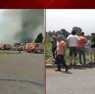 Son dakika: Sakarya Hendekte havai fişek fabrikasında patlama! A Haber ekipleri patlama bölgesinde! İşte ilk görüntüler