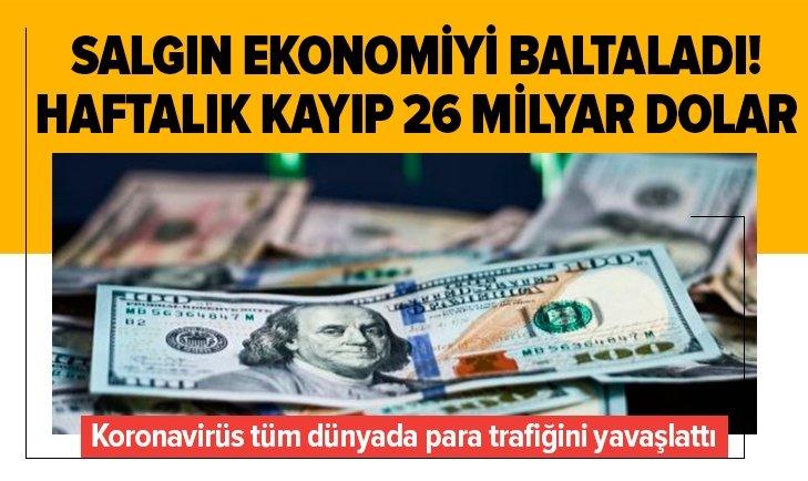 KORONAVİRÜS DÜNYA TİCARETİNİ BALTALADI!