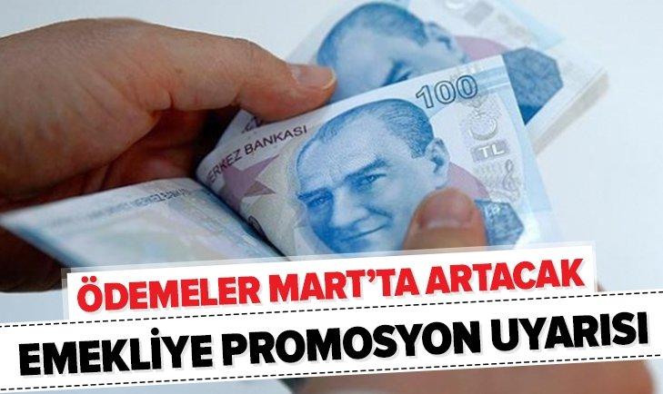 EMEKLİLERE UYARI GELDİ: PROMOSYONLAR MART'TA ARTACAK...