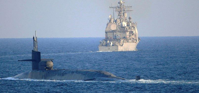 ABD'nin güdümlü füze denizaltısı Hürmüz Boğazı'nı geçti