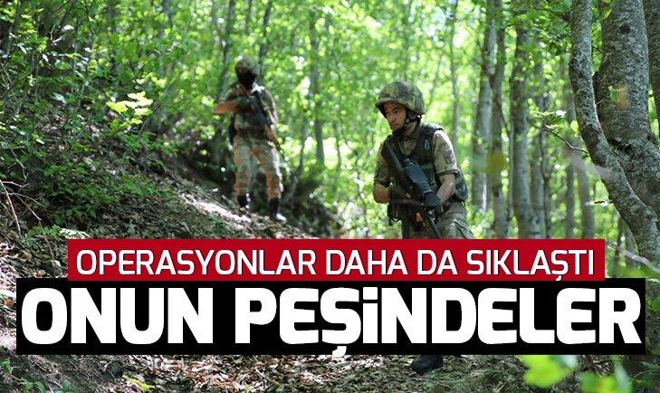Karadeniz'de PKK'lı 'Kawa' yakalandı, JÖH'ler 'Aras'ın peşinde