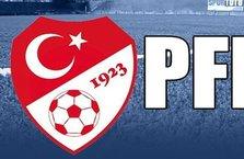 TFF açıkladı! Fenerbahçe ve 4 kulüp...