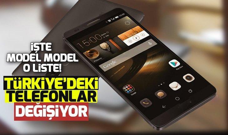 HUAWEİ TELEFONLARI DEĞİŞİYOR!
