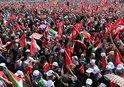 'ZULME LANET, KUDÜS'E DESTEK' MİTİNGİ İÇİN YÜZ BİNLER YENİKAPI'YA AKIN ETTİ