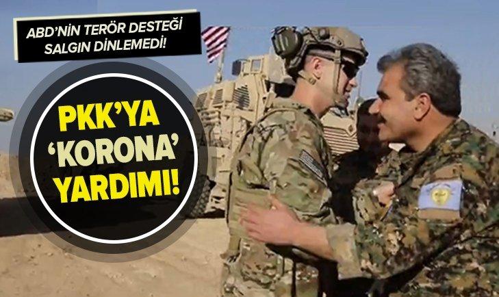 ABD'DEN PKK'YA 'KORANAVİRÜS YARDIMI'