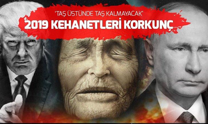 Baba Vanga'nın 2019 kehanetleri tüyler ürpertti   Türkiye ve Donald Trump...