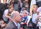 İçişleri Bakanı Soylu Diyarbakır'da evlat nöbeti tutan annelerin yanında