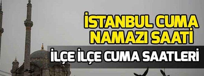 İstanbul Cuma namazı saati kaçta?