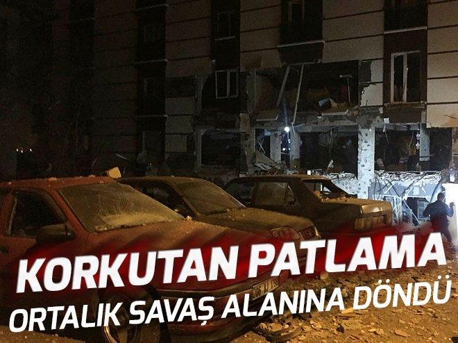 Kırıkkale'de doğalgaz patlaması!