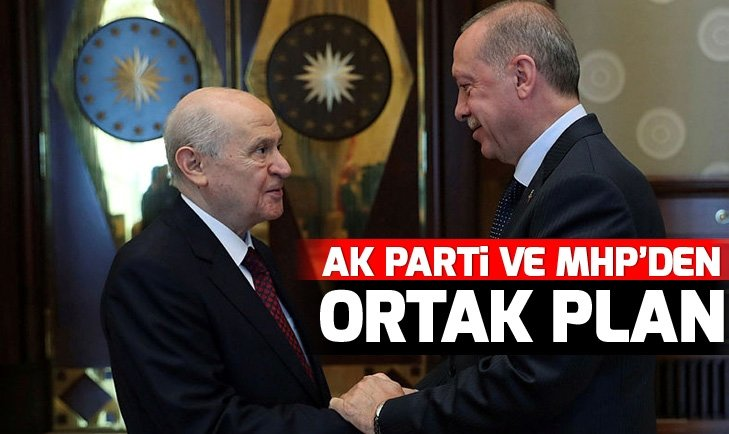 AK PARTİ VE MHP'DEN ORTAK MİTİNG