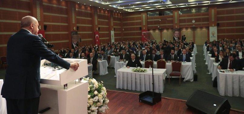 BAŞKAN ERDOĞAN'DAN ÖNEMLİ TOPLANTI