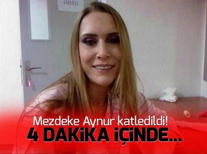 Mezdeke üyesi Aynur Kanbur'un katili kameralara yakalandı!