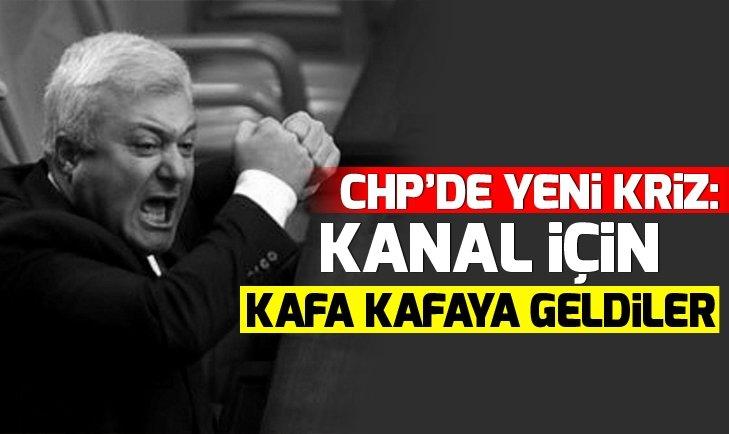 CHP'DE KRT KRİZİ