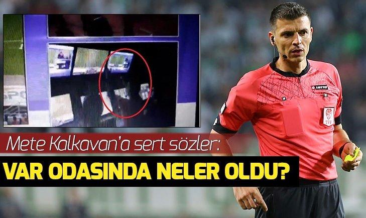 AHMET ÇAKAR'DAN METE KALKAVAN'A SERT SÖZLER!