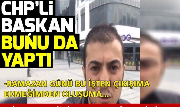 CHP'li belediyelerde işçi kıyımı devam ediyor! Ramazan günü işten çıkarıldı