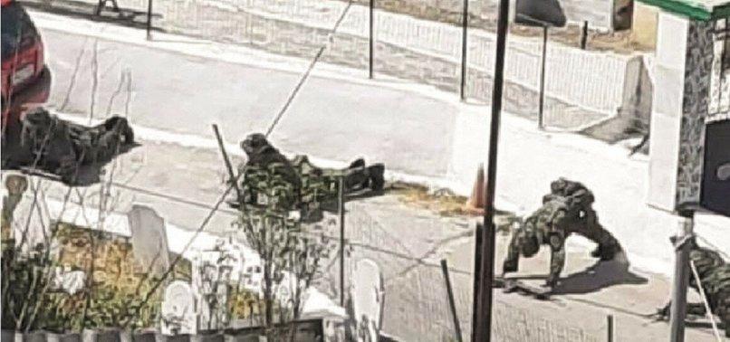 Yunanistan'dan tehlikeli tahrik! Türk köyüne asker gönderdiler...