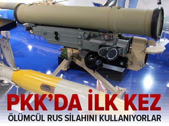 PKK'DA RUS FÜZESİ... İLK KEZ YAKALANDI