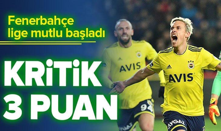 GAZİANTEP FK 0 - 2 FENERBAHÇE | MAÇ SONUCU