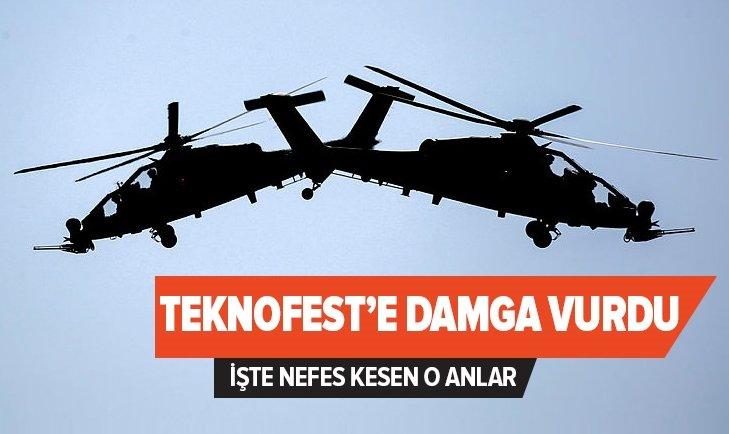 ATAK HELİKOPTERLERİ TEKNOFEST'E DAMGA VURDU!