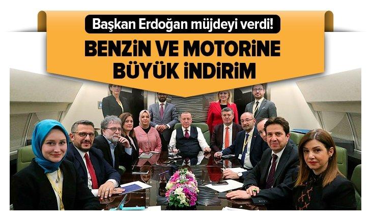 Erdoğan müjdeyi verdi! Büyük indirim yolda