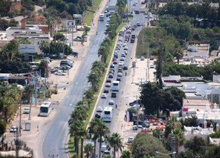 Tatilcilerin dönüş çilesi başladı! Bodrum'da kilometrelerce araç kuyruğu