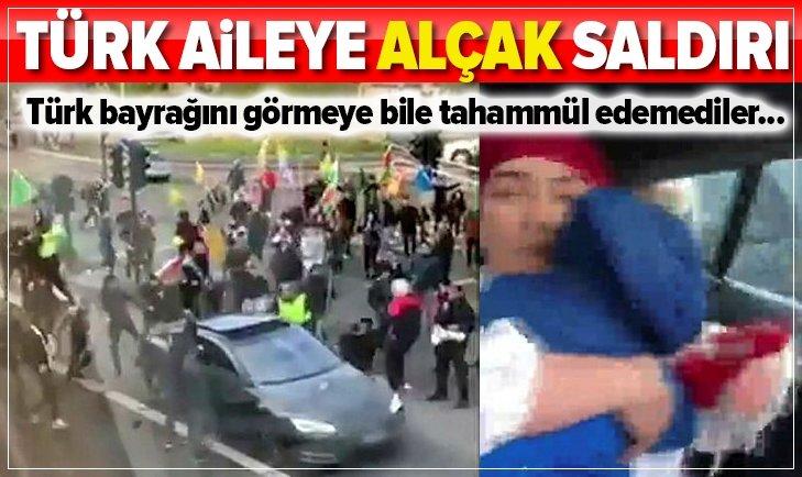 Oslo'da Türk aileye alçak saldırı!