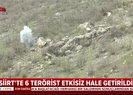 Siirt'te 6 terörist etkisiz hale getirildi |Video