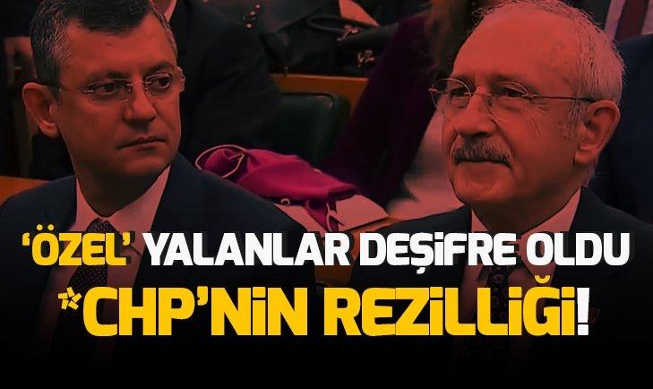 'ÖZEL' YALANLAR! CHP'NİN EREN ERDEM PROVOKASYONU