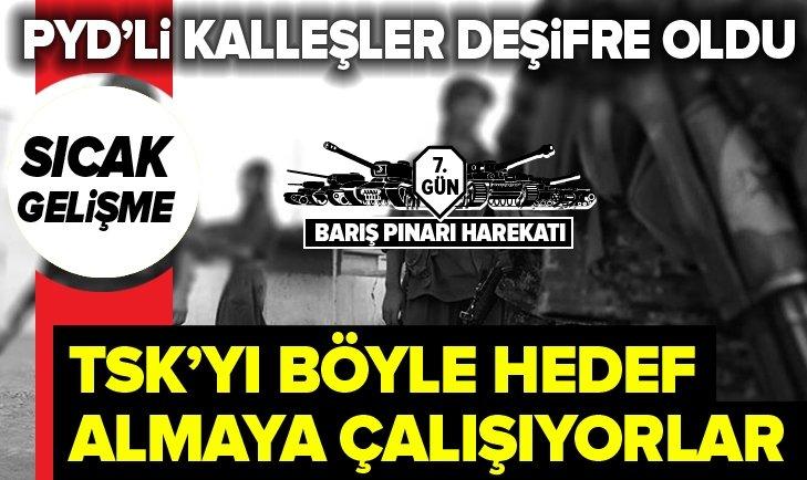 İŞTE YPG/PKK'LILARIN KAÇMA VE TSK'YI KARALAMA PLANI