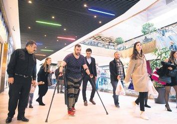 15 Temmuz gazisi Ahmet Kahraman: Cumhurbaşkanım beraber yürüyelim