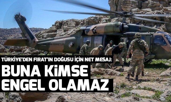 Dışişleri Bakanı Çavuşoğlu'ndan Fırat'ın doğusu için net mesaj