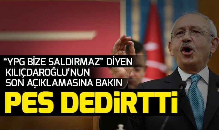 Bir yalan daha! Kılıçdaroğlu, YPG Türkiye'ye saldırmaz  sözleri için bakın ne dedi
