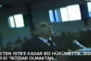 Alparslan Türkeş, İşkenceci Nurettin Soyer'e böyle seslenmiş!