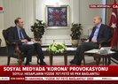 İçişleri Bakanı Süleyman Soylu koronavirüs tedbirleriyle ilgili son gelişmeleri A Haber canlı yayınında anlattı |Video