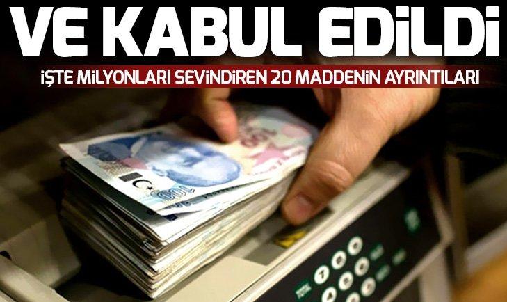 EKONOMİYE NEFES ALDIRAN TORBA TEKLİFİ