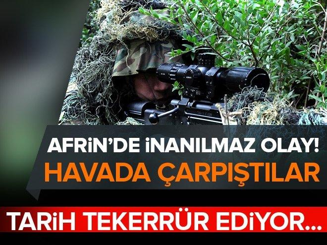 AFRİN'DEN ÇANAKKALE'Yİ HATIRLATAN KARE!