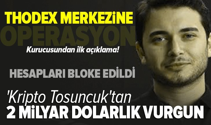 MASAK Türkiye'nin konuştuğu kripto para vurgunu için harekete geçti! Thodex'in kurucusu Faruk Fatih Özer yurt dışına kaçtı!