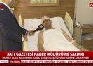 Yeni Akit Gazetesi Haber Müdürü Murat Alan saldırının nasıl gerçekleştiğini A Haber'e anlattı |Video